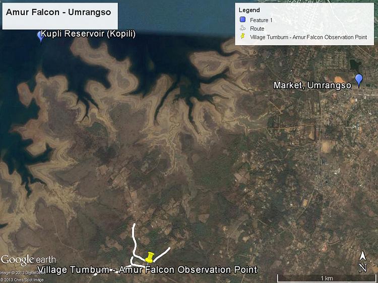 Hunting routes Umrangso